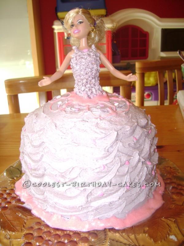 Cool Barbie Birthday Cake