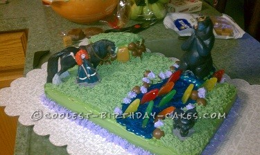 Beautiful Disney Brave Cake