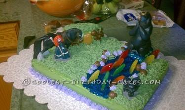 Beautiful Disney Brave Cake