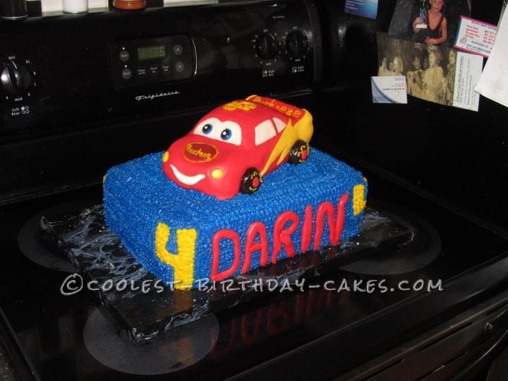Cool Disney Cars Birthday Cake