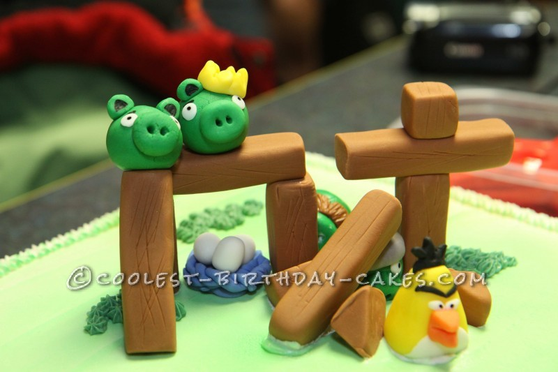 8Th Birthday Cake Ideas http://ideas.coolest-birthday-cakes.com/2013/01/02/coolest-angry-birds-8th-birthday-cake/
