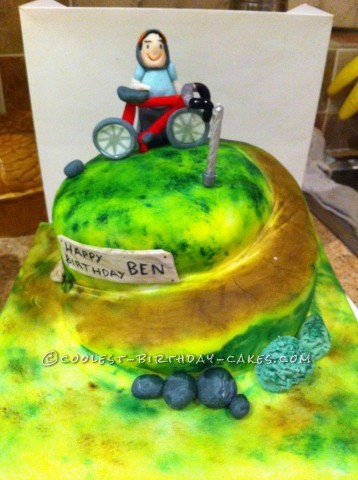 Coolest Cycling Cake
