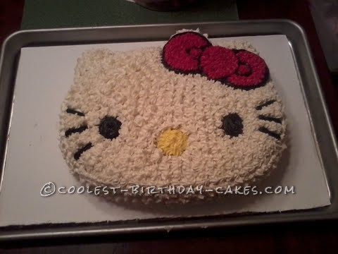 Easy Hello Kitty Birthday Cake