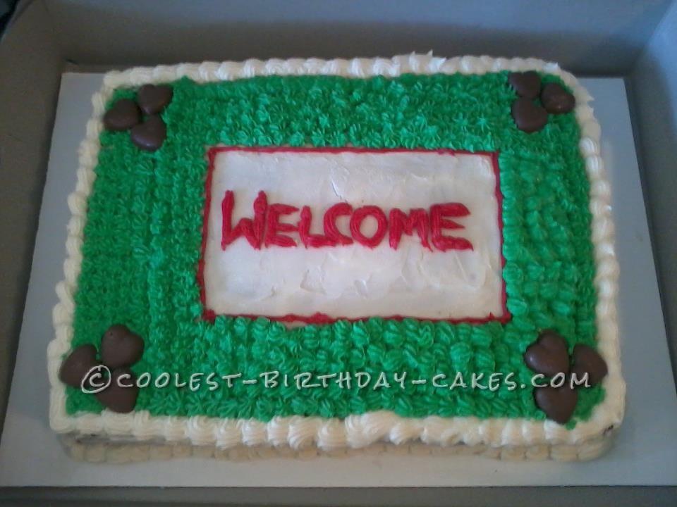 Coolest Housewarming Cake