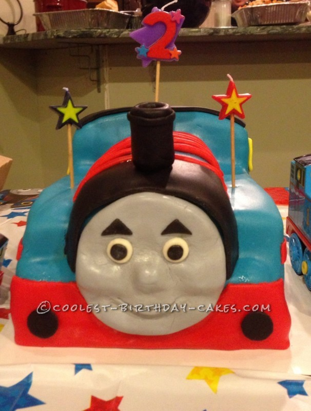 Coolest Thomas the Train Engine Cake