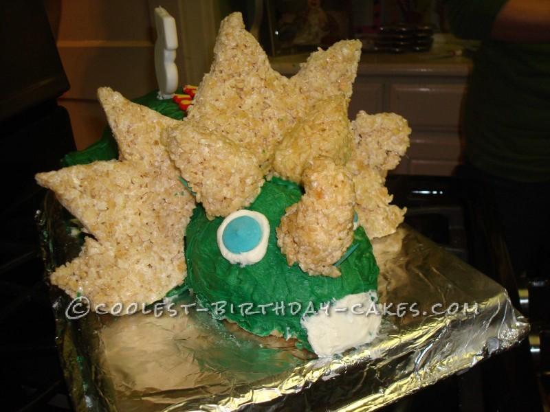 Coolest Stegosaurus Dinosaur Cake