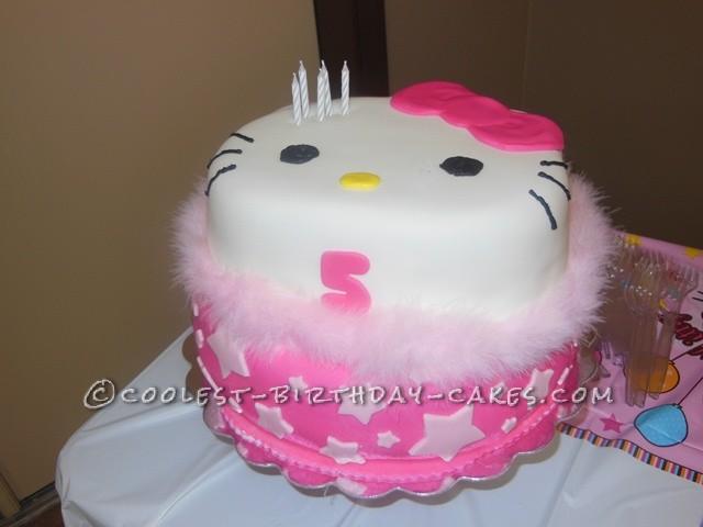 Fashionista Hello Kitty Birthday Cake