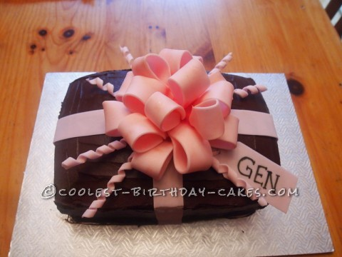 Lovely Gift Box Cake
