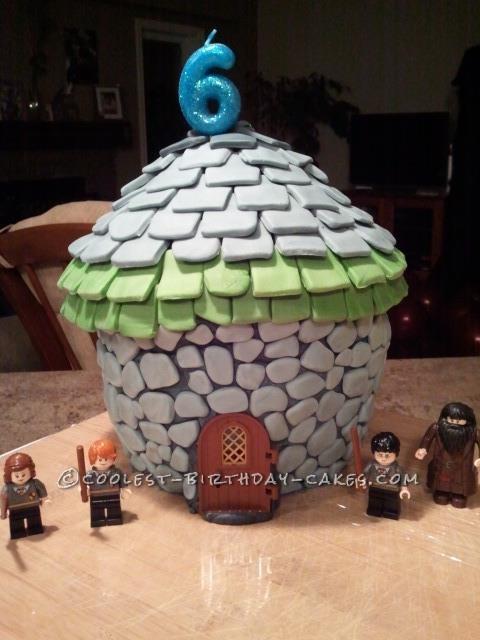 Amazing Hagrids Hut From Harry Potter Birthday Cake