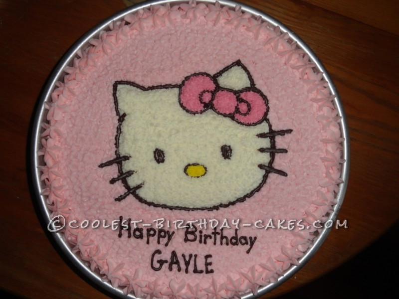 Coolest Hello Kitty Cake