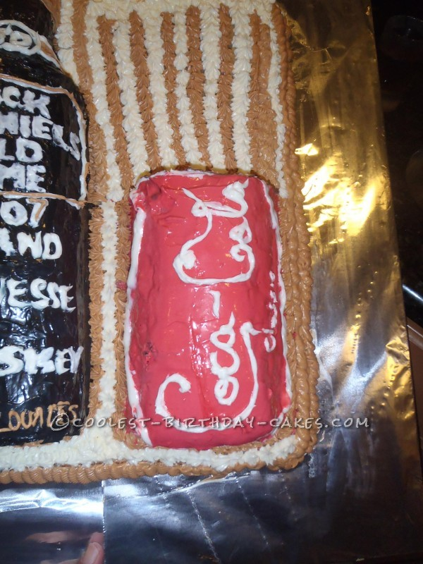 Last Minute Jack Daniel's and Coke Cake