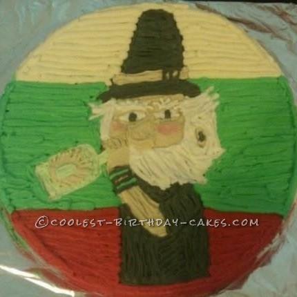 Jaime Duende Birthday Cake