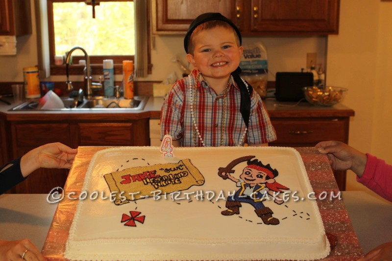 Jake and Never Land Pirates Cake