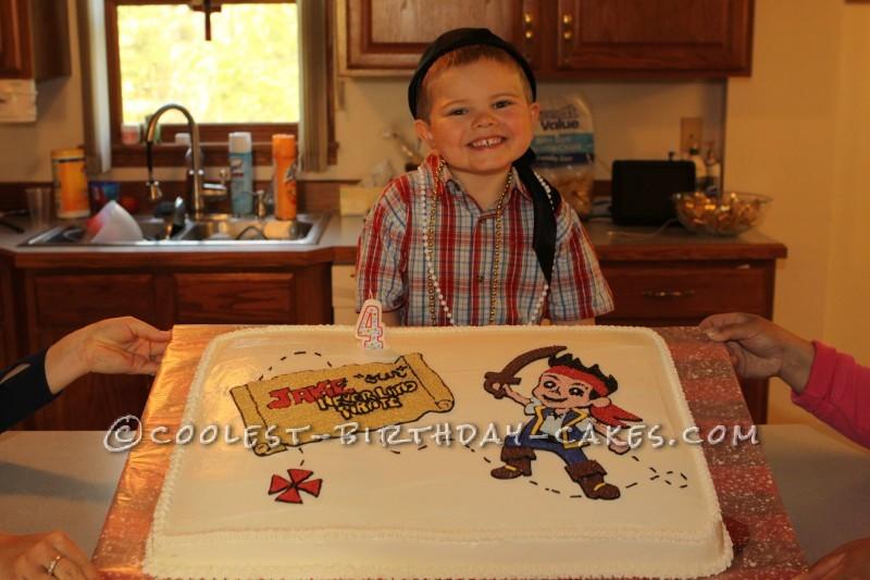 Jake and Never Land Pirates Cake
