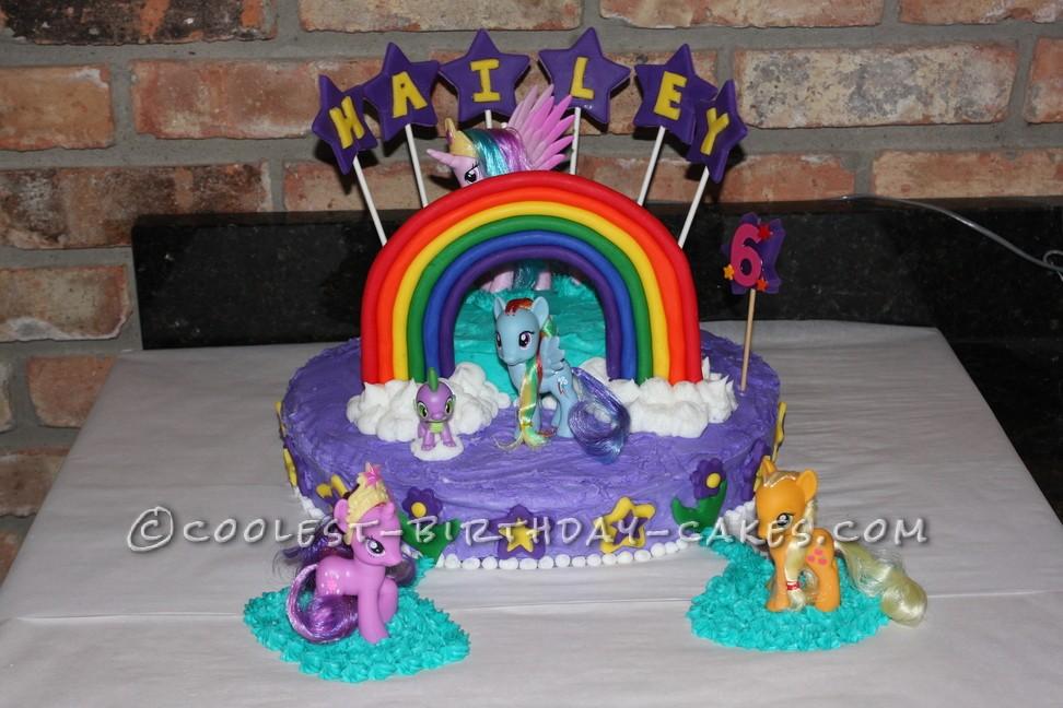 Coolest My Little Pony Birthday Cake