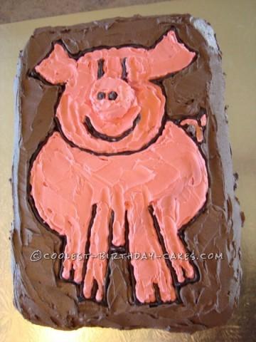 Easy Pig Cake