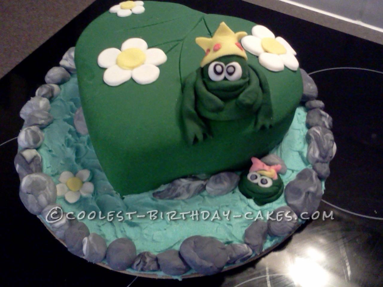 Cool Frog Pond Cake