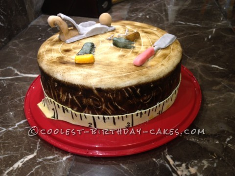 The Wood Workers Cake