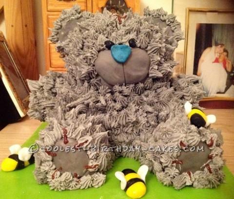 Coolest Teddy Bear Birthday Cake