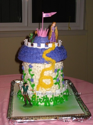 Coolest Rapunzel Birthday Cake
