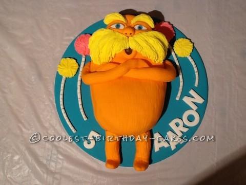 Awesome Lorax Birthday Cake