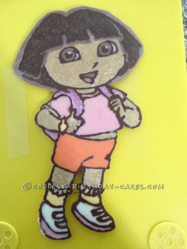 Yummy Ice Cream Dora Cake