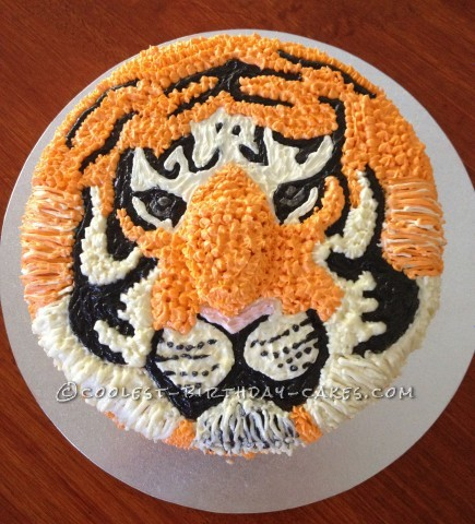 Awesome Bengal Tiger Cake