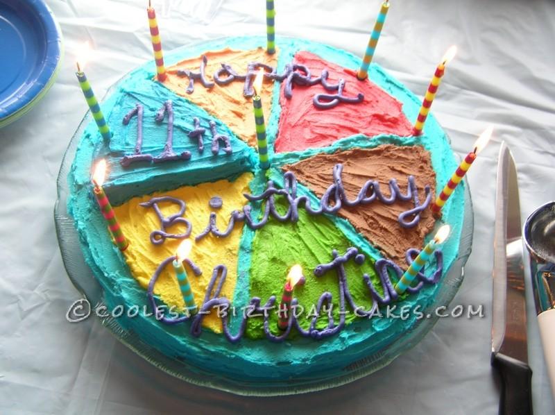 Cool Trivial Pursuit Birthday Cake