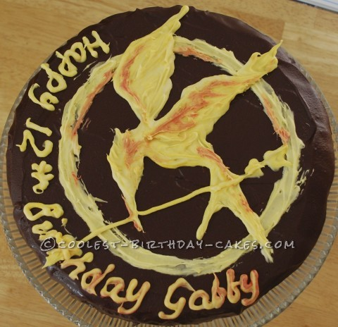 Coolest Hunger Games Suprise Birthday Cake