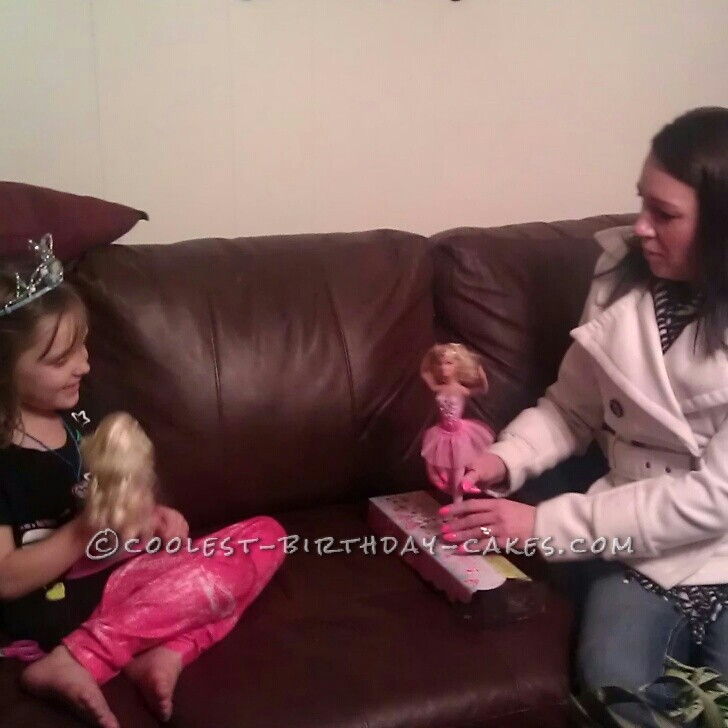 Cool Princess Cake for a Little Princess
