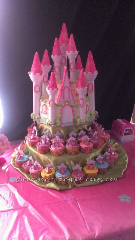 Amazing Castle Cake for a 2nd Birthday