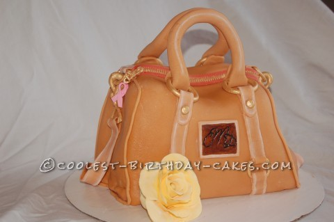 Amazingly Realistic Purse Birthday Cake in Honor of my Beautiful Mother
