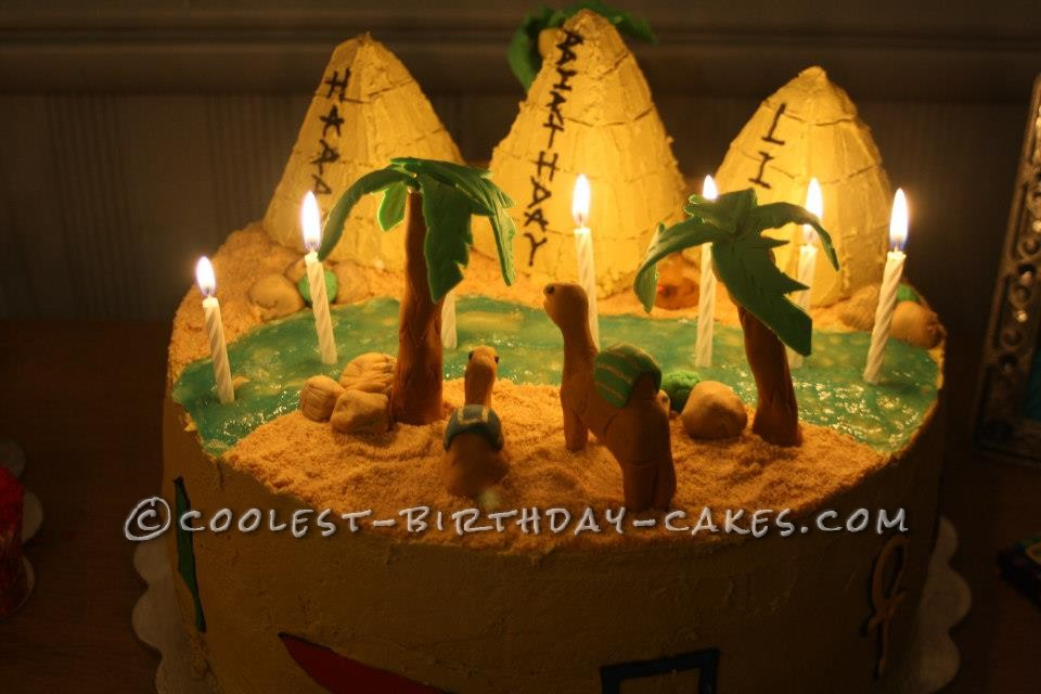Ancient Egypt and Elmo collide for a Double Birthday Cake Bash