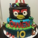 Coolest Angry Bird Cake