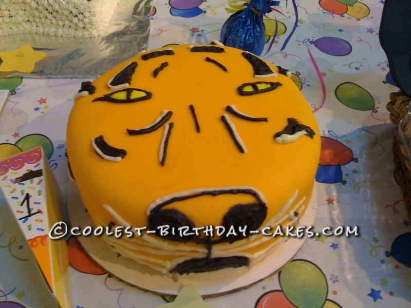 Superb Original Tiger Cake Funny Birthday Cards Online Aboleapandamsfinfo