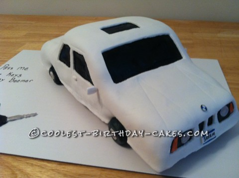 Coolest Dream Car Cake