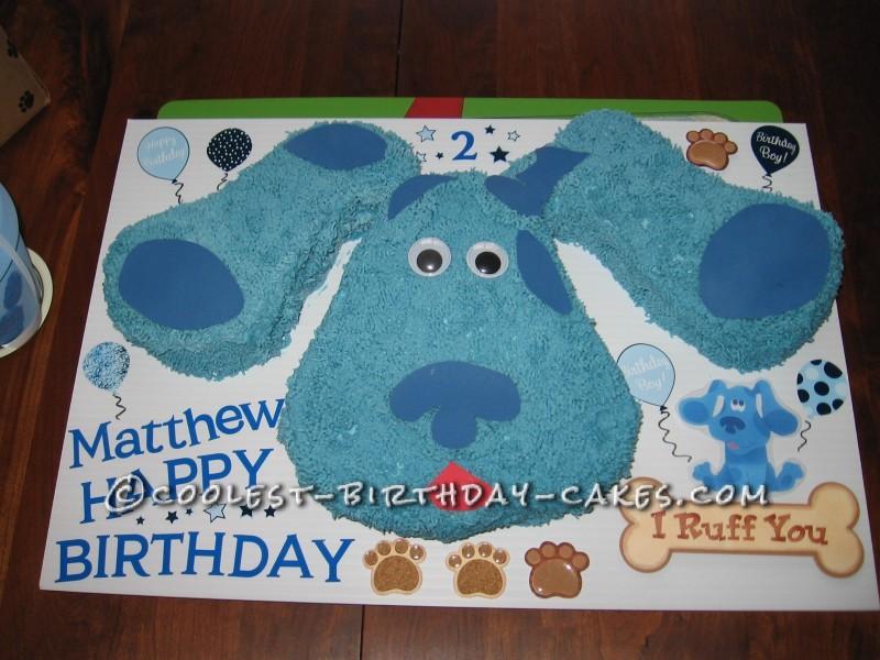 Blues Clues Birthday Cake Blues Clues Cake