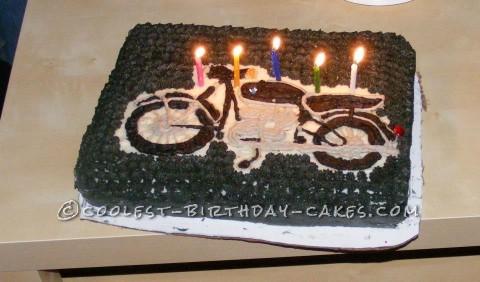 Cool BMW R69S Birthday Cake