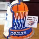 Awesome MVP Basketball Birthday Cake