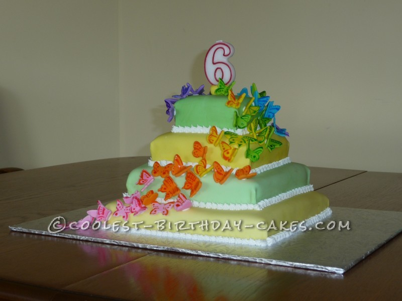 coolest butterfly birthday cakes