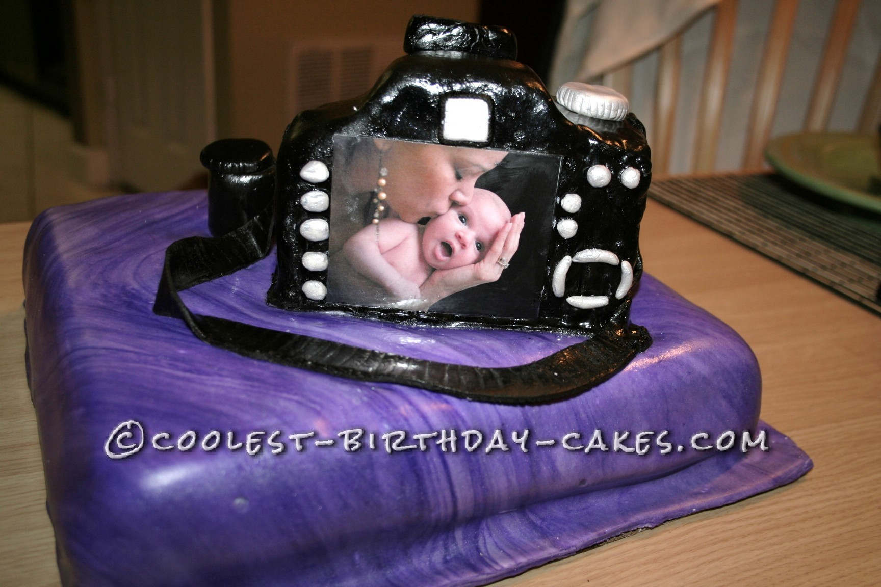 Incredible Camera Cake For A Photographer Birthday Cards Printable Trancafe Filternl