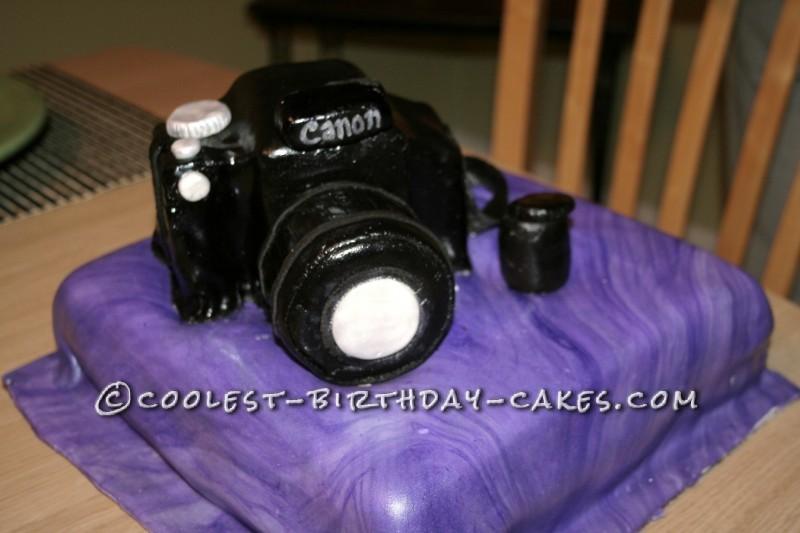 Camera Cake for a Photographer