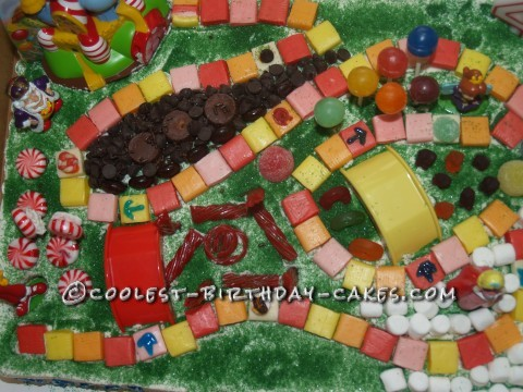 Coolest Candyland Birthday Cake