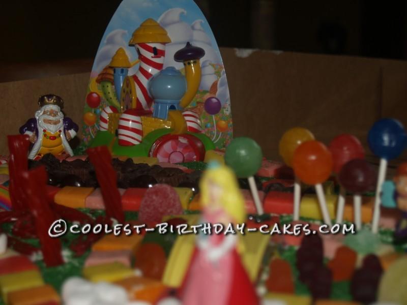 Coolest Candyland Birthday Cake