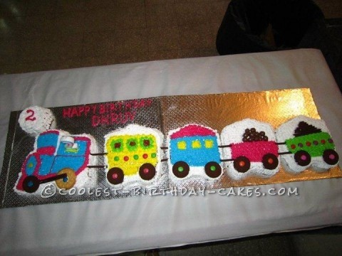 Cool Choo Choo Train Cake