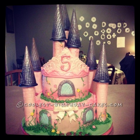 Cool Princess Castle Cake