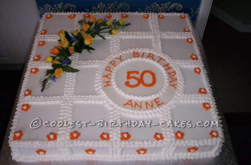 Coolest 50th Birthday Cake