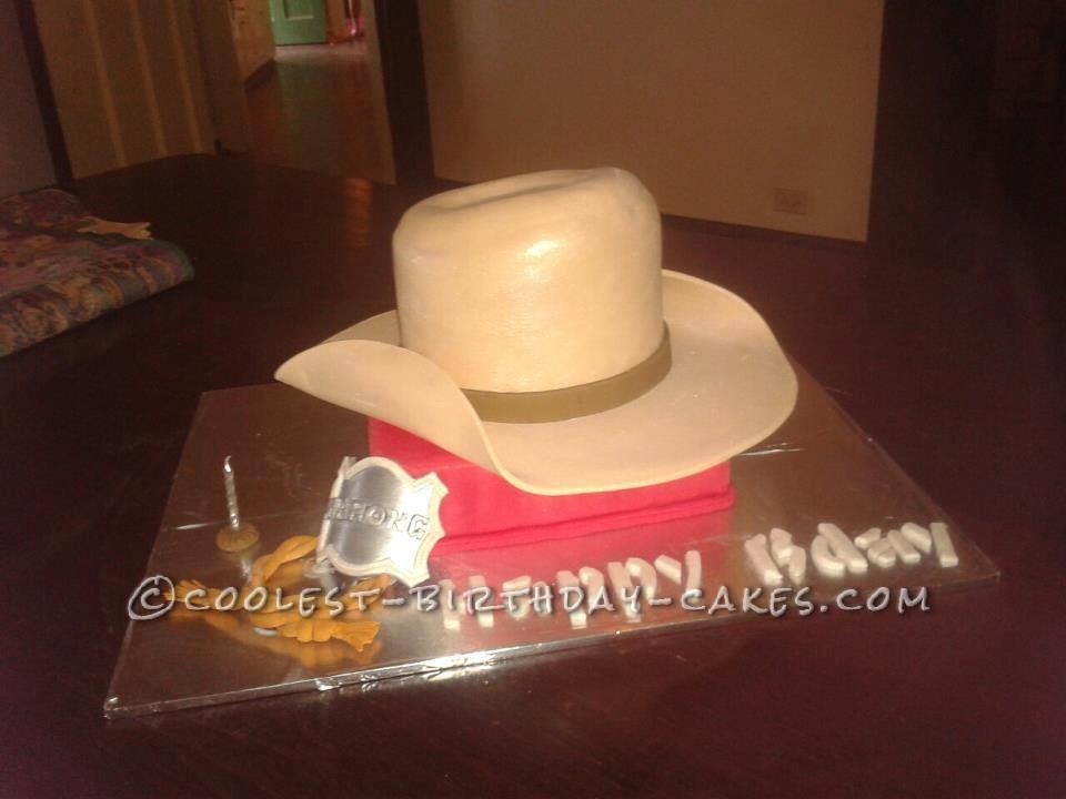 Coolest Akubra Hat Cake