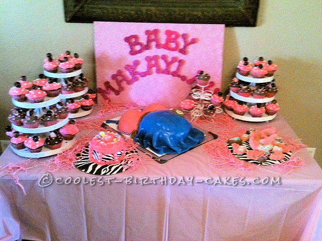 Coolest Baby Bump Cake
