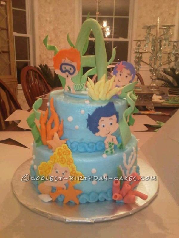 Coolest Bubble Guppies Cake